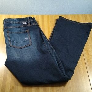 Torrid Source of Wisdom Label Jeans Bootcut Sz 14